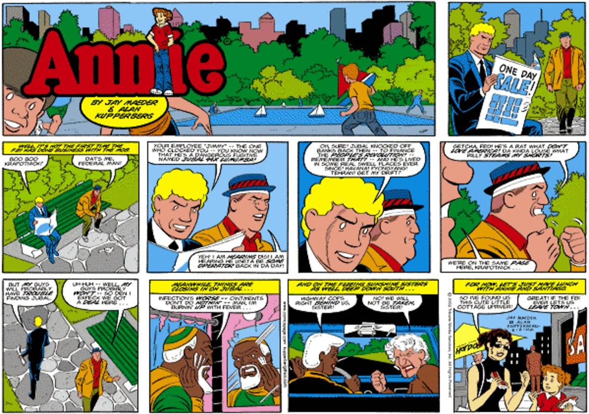 Annie for Mar 3, 2013 Comic Strip
