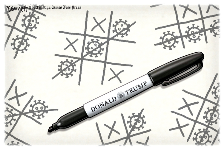 Clay Bennett Comic Strip for August 01, 2020