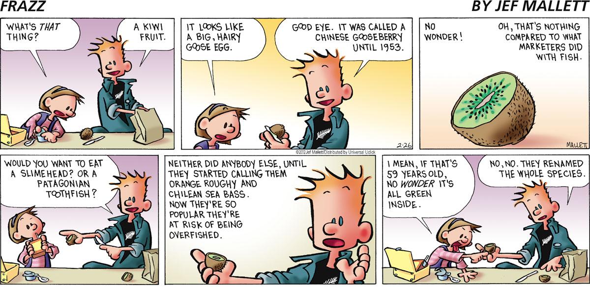 Frazz Comic Strip for February 26, 2012