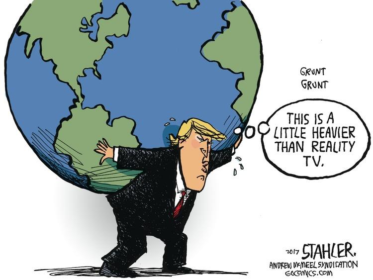 Jeff Stahler Comic Strip for April 09, 2017