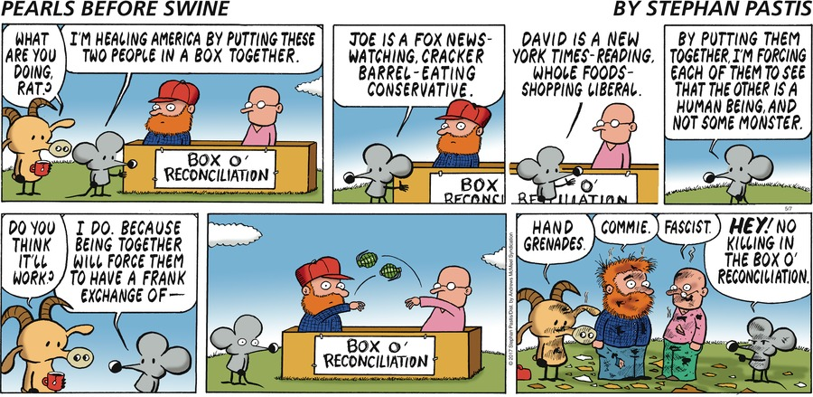 Pearls Before Swine Comic Strip for May 07, 2017