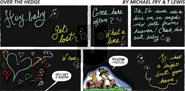 Over the Hedge on Sunday May 28, 2017 Comic Strip