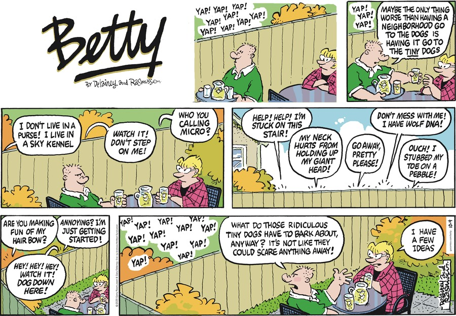 Betty Comic Strip for October 04, 2020