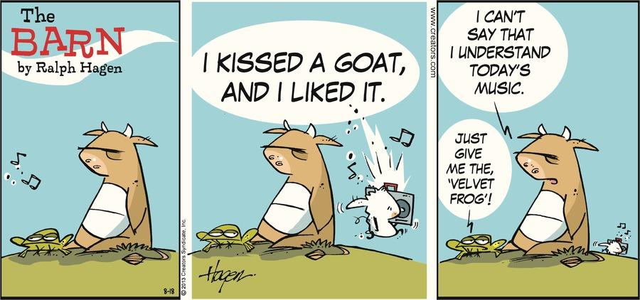 The Barn for Aug 18, 2013 Comic Strip