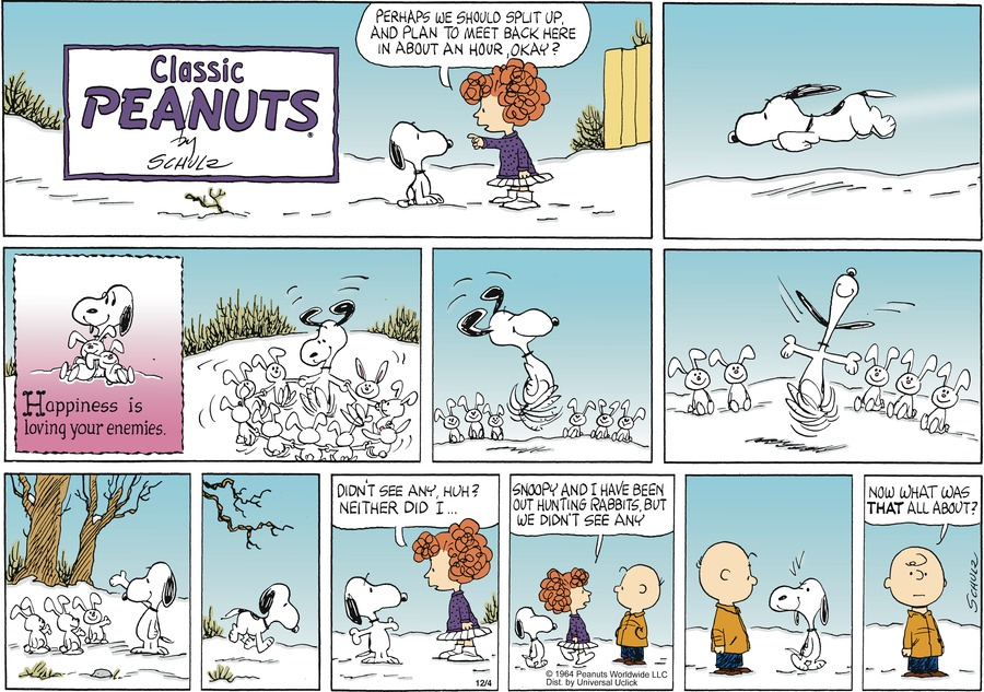 Peanuts Comic Strip for December 04, 2011