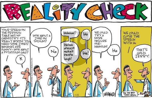Reality Check on Sunday November 22, 2020 Comic Strip