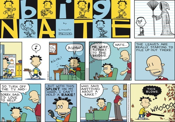 Big Nate on Sunday October 21, 2018 Comic Strip