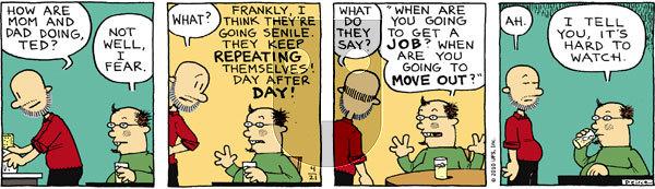 Big Nate on Wednesday April 21, 2010 Comic Strip