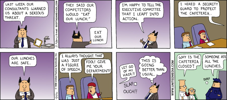 Dilbert Classics Comic Strip for October 25, 2020