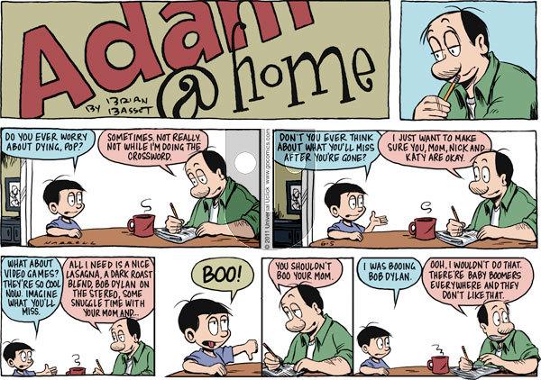 Adam@Home on Sunday June 5, 2011 Comic Strip