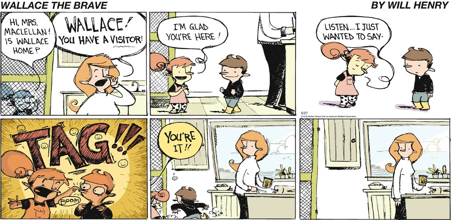 Wallace the Brave Comic Strip for May 27, 2018