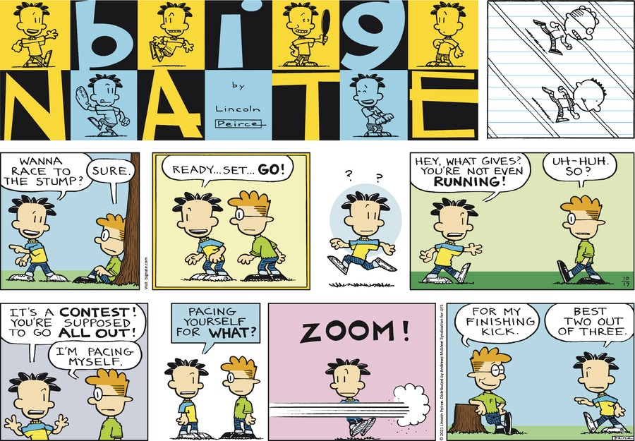 Big Nate by Lincoln Peirce on Sun, 17 Oct 2021