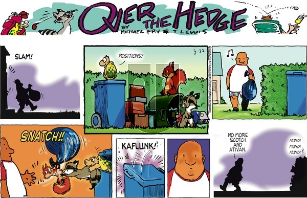Over the Hedge on Sunday March 22, 2020 Comic Strip