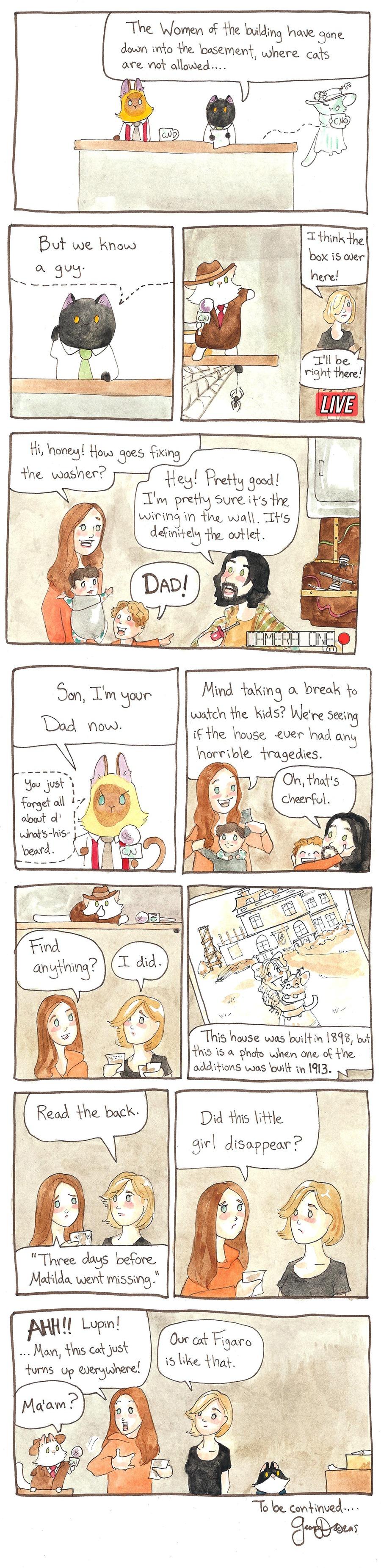 Breaking Cat News for Jan 22, 2017 Comic Strip