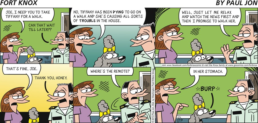 Fort Knox for Sep 29, 2013 Comic Strip