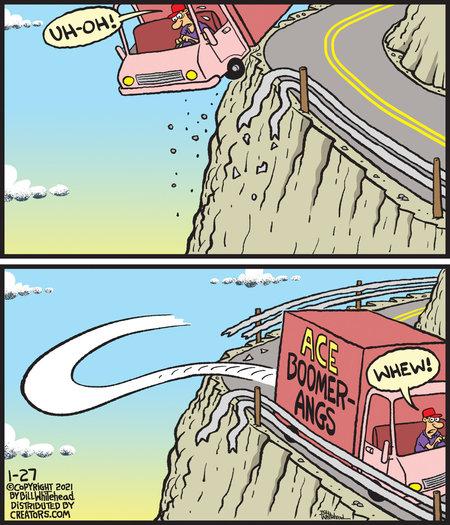 Free Range Comic Strip for January 27, 2021