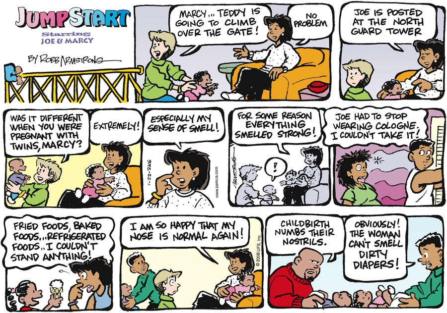 JumpStart Comic Strip for January 22, 2006