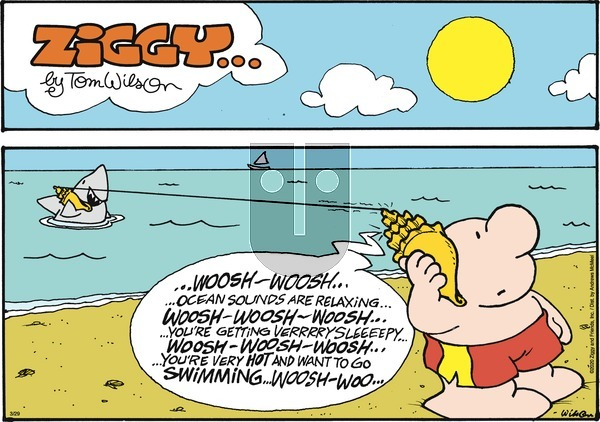 Ziggy on Sunday March 29, 2020 Comic Strip