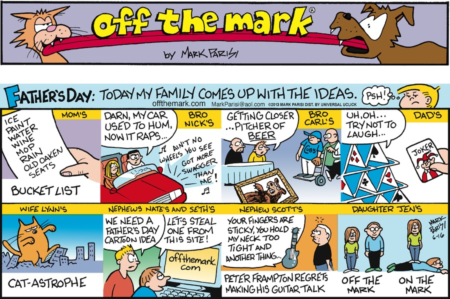 Off the Mark for Jun 16, 2013 Comic Strip