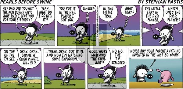 Pearls Before Swine on Sunday January 11, 2015 Comic Strip