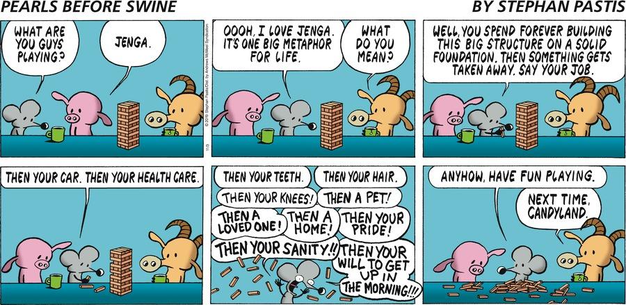 Pearls Before Swine Comic Strip for November 03, 2019