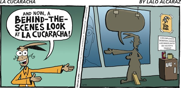 Collectible Print of la cucaracha