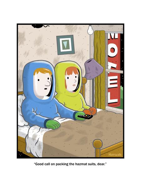 Foolish Mortals by Tom Horacek on Mon, 27 Sep 2021