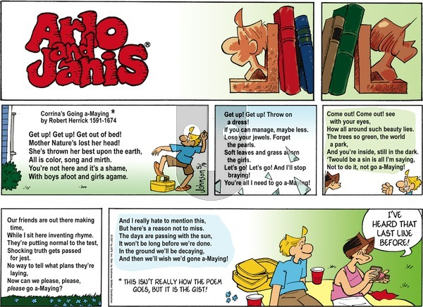 Arlo and Janis on Sunday May 9, 2021 Comic Strip