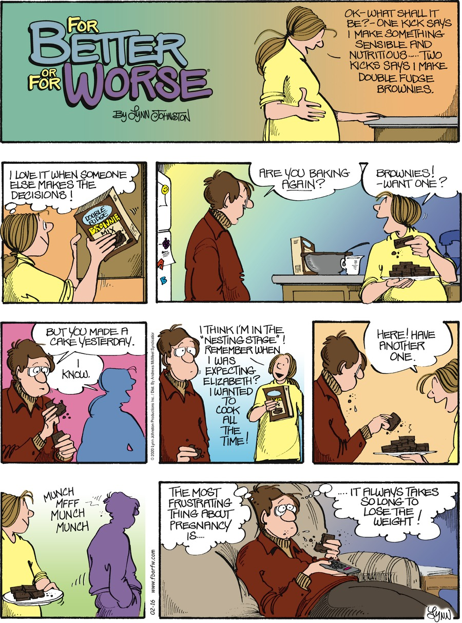 For Better or For Worse Comic Strip for February 16, 2020