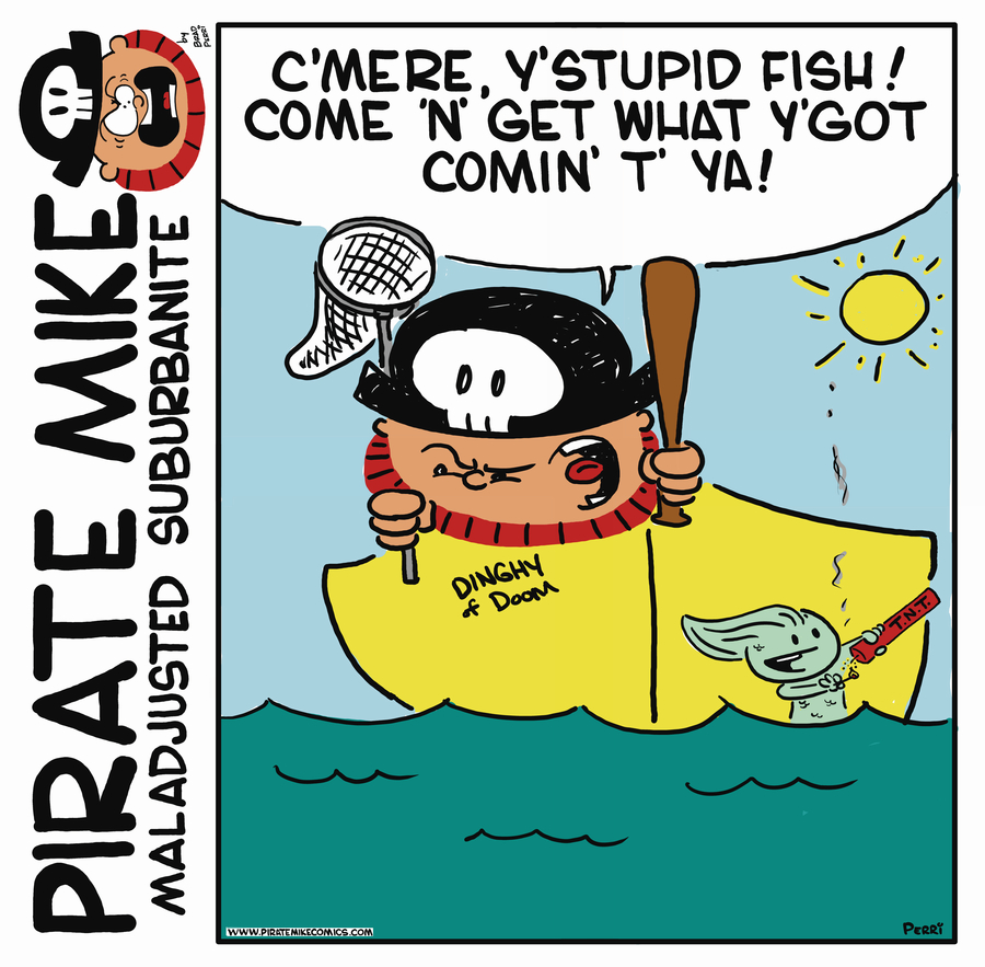 Pirate Mike Comic Strip for July 19, 2019