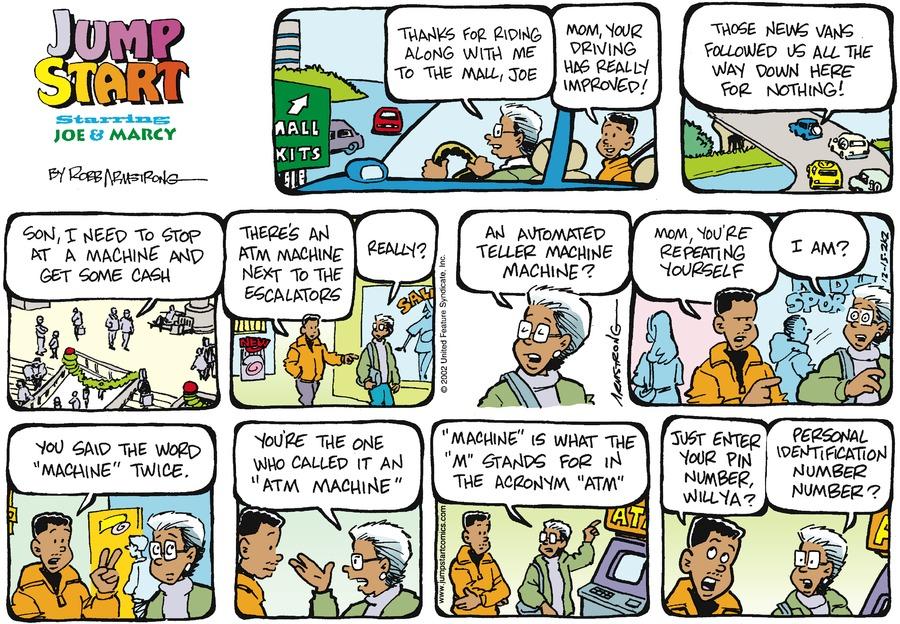 JumpStart Comic Strip for December 15, 2002
