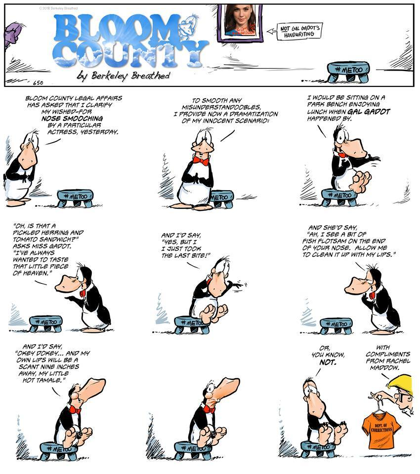 Bloom County 2019 Comic Strip for July 14, 2018