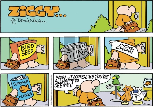 Ziggy on Sunday March 21, 2021 Comic Strip