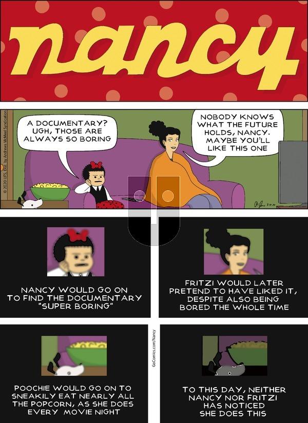 Nancy - Sunday July 19, 2020 Comic Strip
