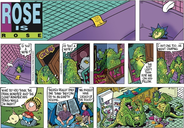 Rose is Rose - Sunday August 30, 2020 Comic Strip
