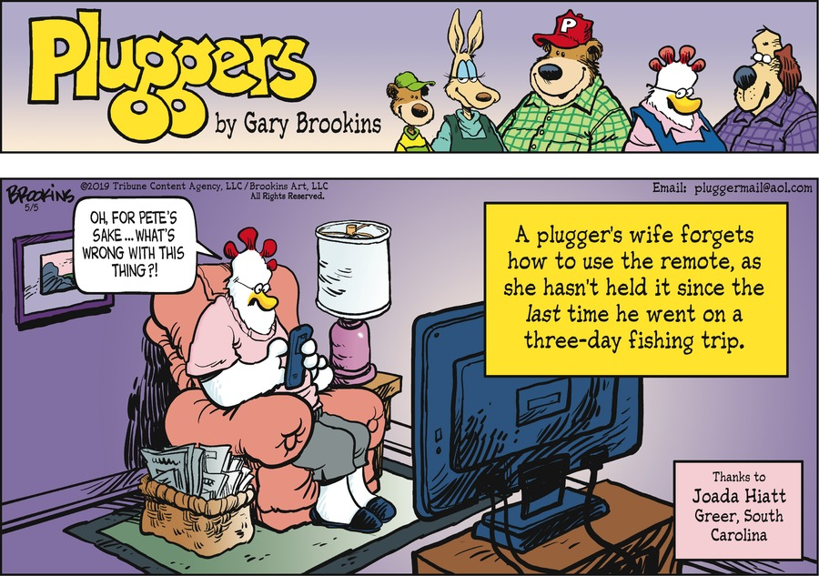 Pluggers by Gary Brookins for May 05, 2019