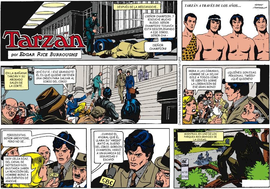 Tarzán en Español by Edgar Rice Burroughs on Sun, 18 Apr 2021