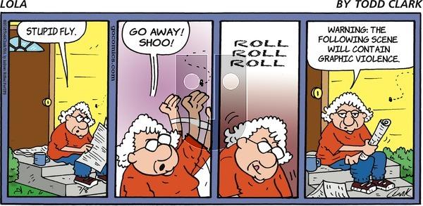 Lola on Sunday July 8, 2018 Comic Strip