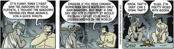 Alley Oop - Friday July 19, 2019 Comic Strip