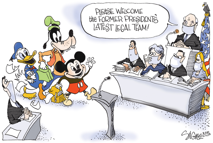 Signe Wilkinson Comic Strip for February 11, 2021