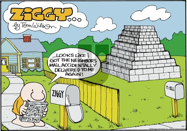 Ziggy on Sunday December 2, 2018 Comic Strip