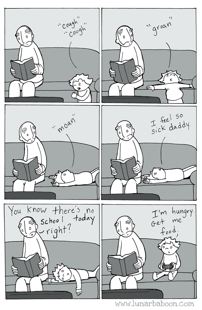Lunarbaboon Comic Strip for August 21, 2016