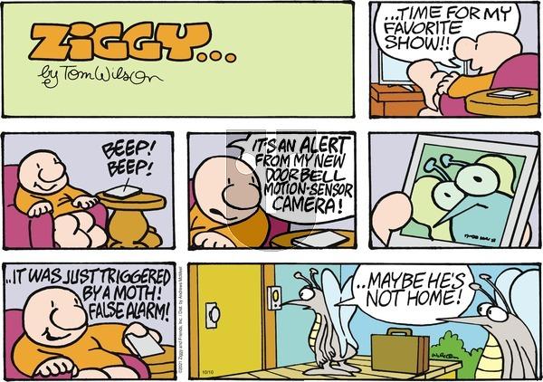 Ziggy on Sunday October 10, 2021 Comic Strip