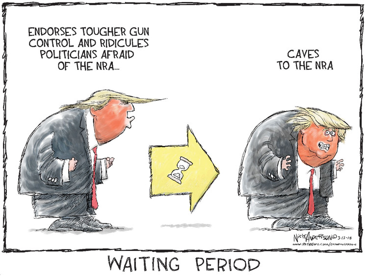 Nick Anderson Comic Strip for March 13, 2018