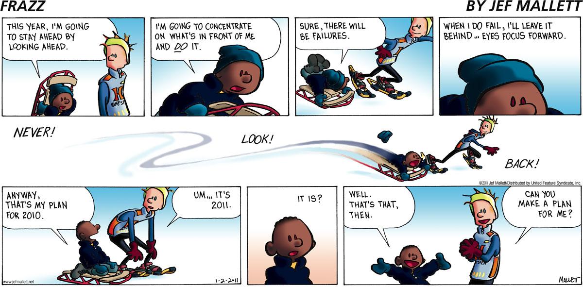 Frazz Comic Strip for January 02, 2011