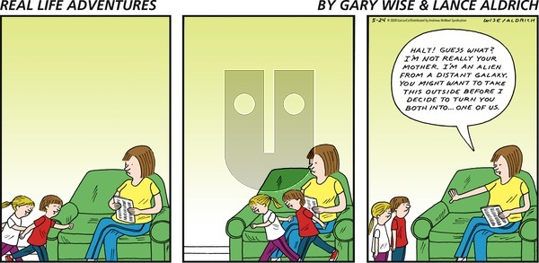 Real Life Adventures on Sunday May 24, 2020 Comic Strip
