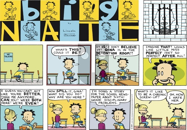 Big Nate on Sunday January 21, 2018 Comic Strip
