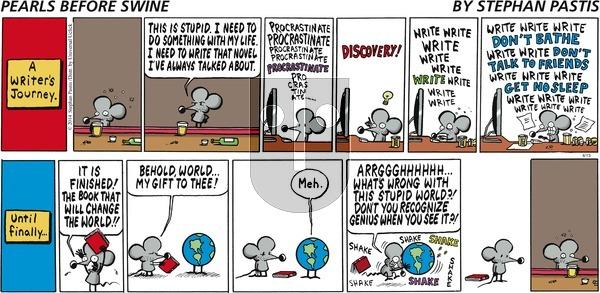 Pearls Before Swine - Sunday April 13, 2014 Comic Strip