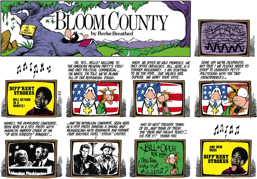 Bloom County by Berkeley Breathed on Tue, 29 Sep 2020