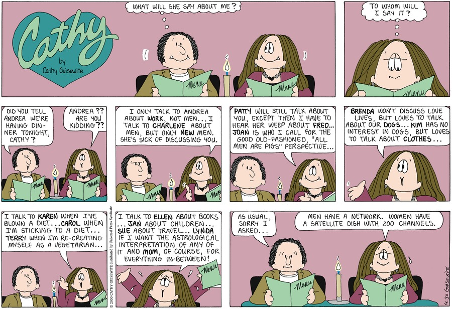 Cathy for May 1, 2011 Comic Strip